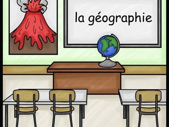 School Subjects Les matières