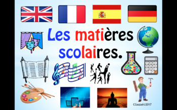 School Subjects in French.