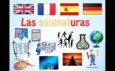 School Subjects in Spanish.