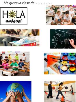 School Subjects in Spanish