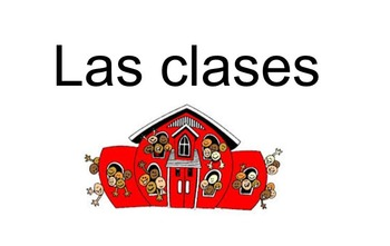 School Subjects in Spanish Lesson