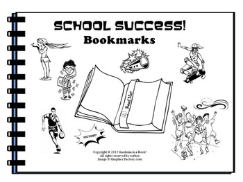 Success Bookmarks! (black & white)