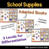 School Supplies - Adapted Book
