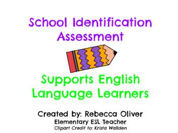 School Supplies Assessment
