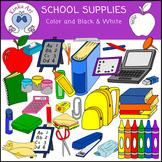 School Supplies {Back to School} Clip Art