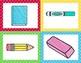 School Supplies Beginning Sound Match!