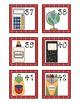 School Supplies Calendar Numbers to 100