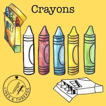 School Supplies Clip Art Collection