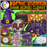 Halloween Game Boards Clipart