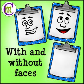 School Supplies Clip Art Growing BUNDLE Over 200 Clips! CM