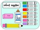 School Supplies Clip Art {Mega Pack!}