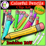 School Supplies Clip Art Pencils CM