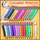 School Supplies Clip Art Pencils CM