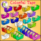 School Supplies Clip Art Tape CM
