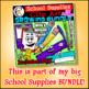 School Supplies Clip Art Push Pins CM