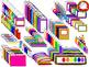 School Supplies Clipart {FRESH FREEBIE- 146 Clips} (Person