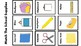 School Supplies File Folder