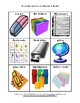School Supplies Flashcards: A Back-to-School Activity