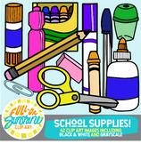 School Supplies [Full-On Sunshine Clip Art]
