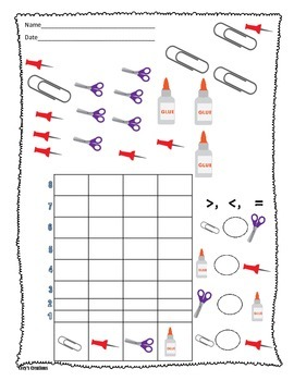 School Supplies Graphing