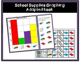 School Supplies Graphing  - ADAPTED BOOK