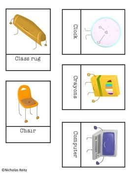 School Supplies Headband Game - Back to School Activity