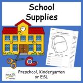 School Supplies Mini Unit