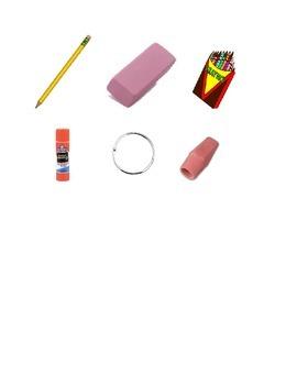 School Supplies Task Box