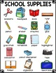 School Supplies Vocabulary Activities for Beginning ELLs