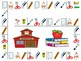 School Supplies Vocabulary Board Game