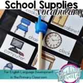 School Supplies Vocabulary Unit