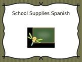 School Supplies in Spanish