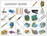 School Supply Bingo 3x3