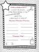 School Supply Form- Black and White 3 Pages