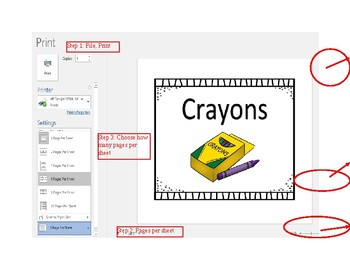 School Supply Labels! (Editable)