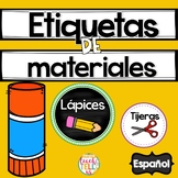 School Supply Labels Spanish Etiquetas para materiales