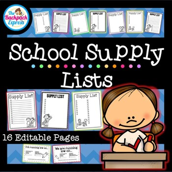 Supply Request Form Worksheets Teaching Resources Tpt