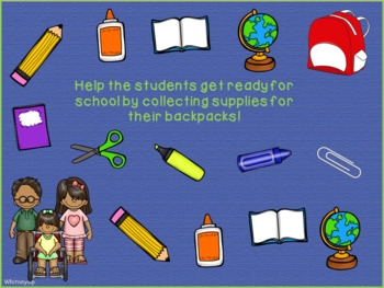 School Supply Match-Up FREEBIE