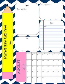 School Supply Newsletter