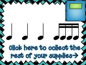 School Supply Scramble - A Game for Practicing Tiri-tiri
