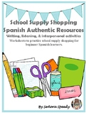 School Supply Shopping-Activities with Authentic Resources
