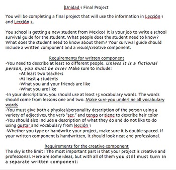 School Survival Guide Project