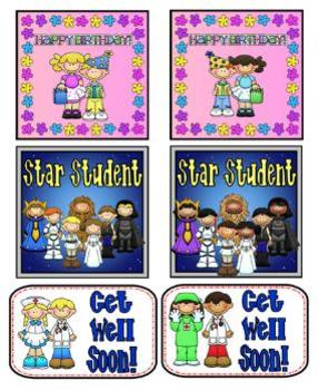 School Tags Fun Stuff for the Classroom
