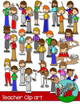 School Teachers/ People / Teacher - Fun Clipart / Graphics