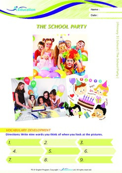 School - The School Party - Grade 3