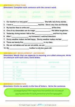 School - The Storyteller (I) - Grade 2