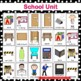 School Theme Flashcards