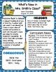 School Theme Newsletter Templates