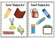 School Theme Shopping List and Memory Game