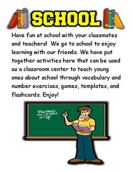 School Themed Activity Set